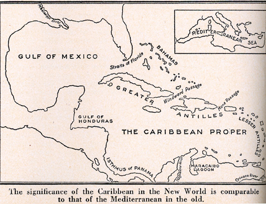 The U S Lend Lease Bases In The Caribbean These Maps Are Both From An Issue Of Life Magazine 7 April 1941 That Had Several Articles On The U S Bases